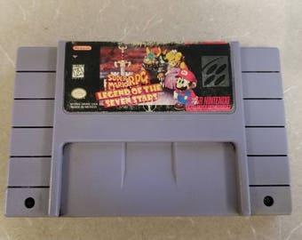 Super Mario RPG Snes Super Nintendo