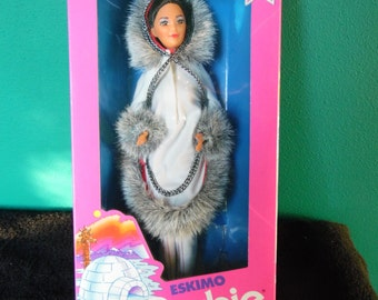 Mattel Dolls of the World Eskimo Barbie Doll