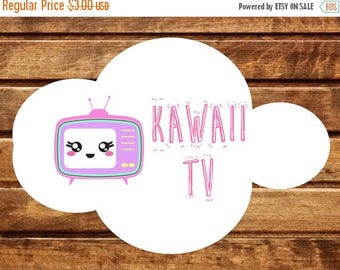 30 Kawaii TV, Television stickers, Planner Stickers