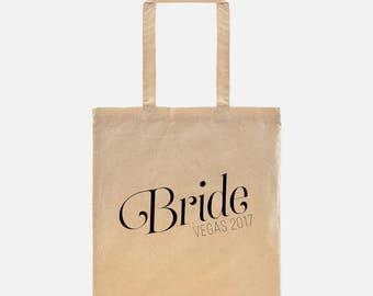 Monogram Tote Bag - Wedding Party