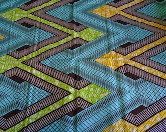 6 Yard Wholesale Wax Print Fabric