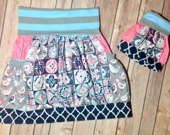 Dolly & me Boutique skirt 6/7/8 RTS