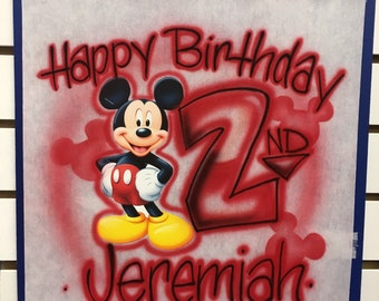 Mickey Mouse Birthday Shirt, Mickey Mouse Birthday, Mickey Mouse Shirt, Mickey Mouse Birthday Outfit