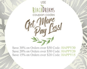 Use ReachDreams coupon codes!