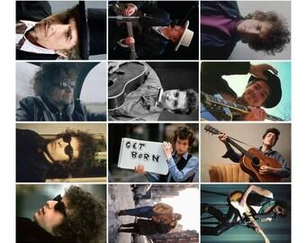 Bob Dylan - 12 Postcard Sized Photo Gift Set