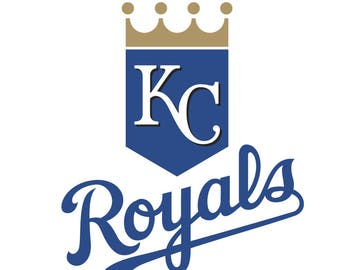 Kansas City Royals Logo Vinyl Decal Many Sizes Available Buy 2 get 1 free of equal or lesser size!