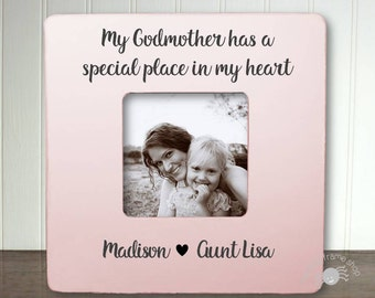 gift for godmather aunt and godmother gift for godmather godparent frame my godmother has a special place in my heart ibfsbapt