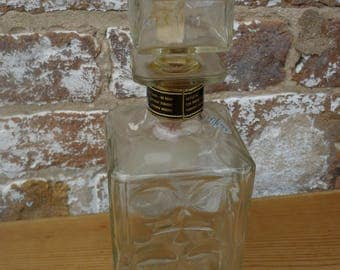 Evan Williams Glass Decanter