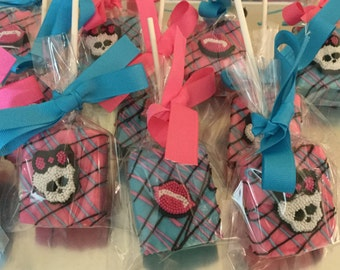Monster High Chocolate Covered Rice Krispies