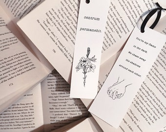 Bloodlines Bookmarks - Set of 2 - Sydrian