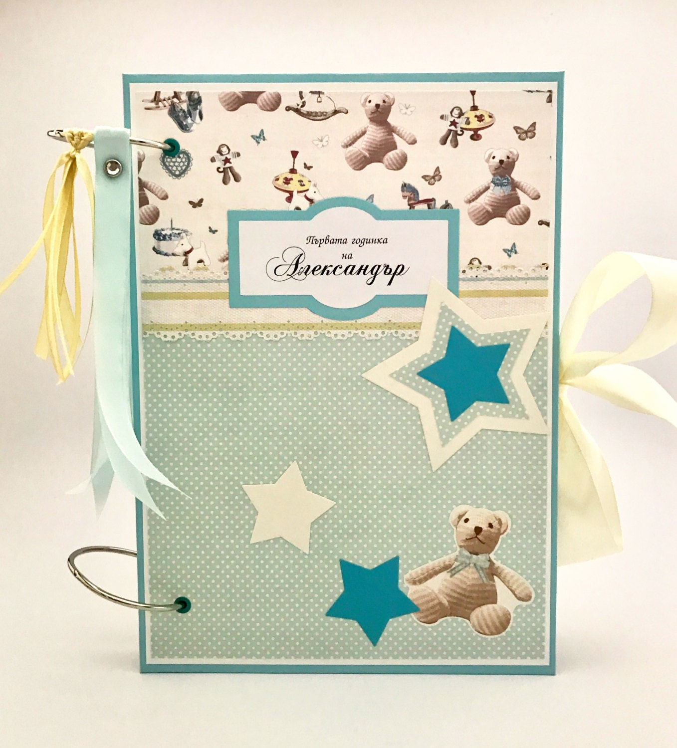 How to scrapbook baby book - Sold By Kristabellacreations