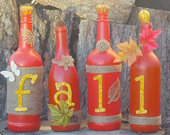Fall Bottle Set