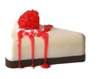 Fake food soap - Novelty soap - Handmade gift soap  - Cake slice soap - Realistic Food Soap - Soap Art - Food Lover Gift - Premium Soap -