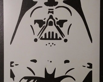 Darth Vader #2 Star Wars Rogue One Custom Stencil FAST FREE SHIPPING