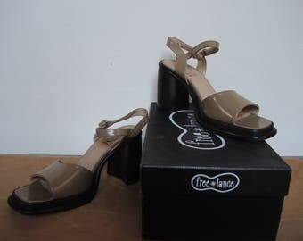 Free Lance Paris 90s High Heel Sandals squared toe