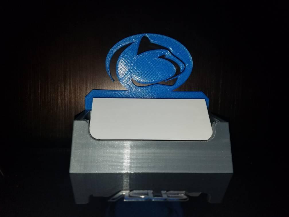 University Pride Series Penn State Logo Business Card Holder/Desktop ...