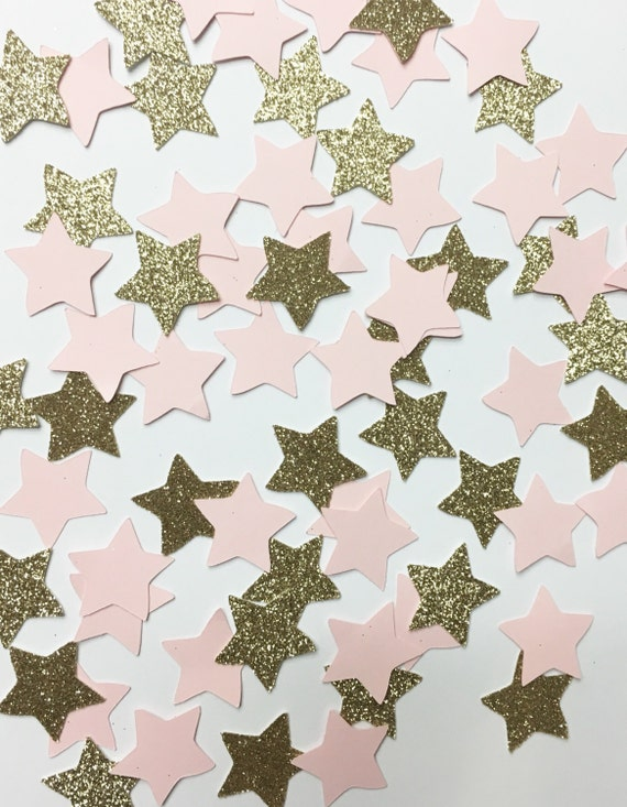 Twinkle Twinkle Golden Star Confetti//confetti, party decorations, baby shower, birthday party, star confetti