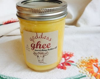 Half-Pint GHEE 8oz (grass-fed) [nourishing butter oil]
