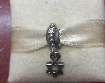 Pandora star of david bead