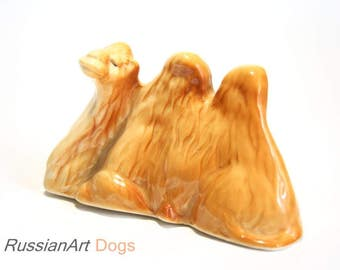 Camel porcelain figurine,  statue
