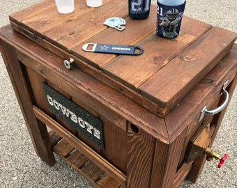 Handcrafted Custom-made Rustic Ice Chest Coolers