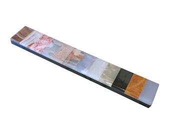 Italian Specimen Marble Mid Century Bar Paperweight