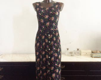 Flowered dress anni ' 90