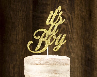 Its a boy cake topper, babyshower cake topper