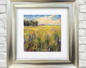 "Original Pastel Painting ""Sunny Day"""
