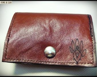 Leather wallet & card holder