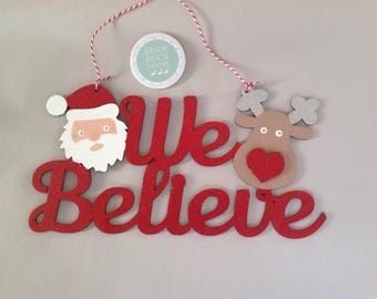 We Believe Plaque by Duck Duck Goose