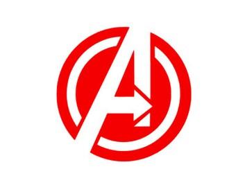 Iron On Avengers logo