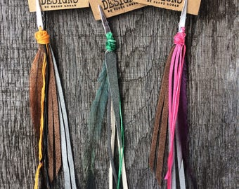 Bohemian Leather hair extention