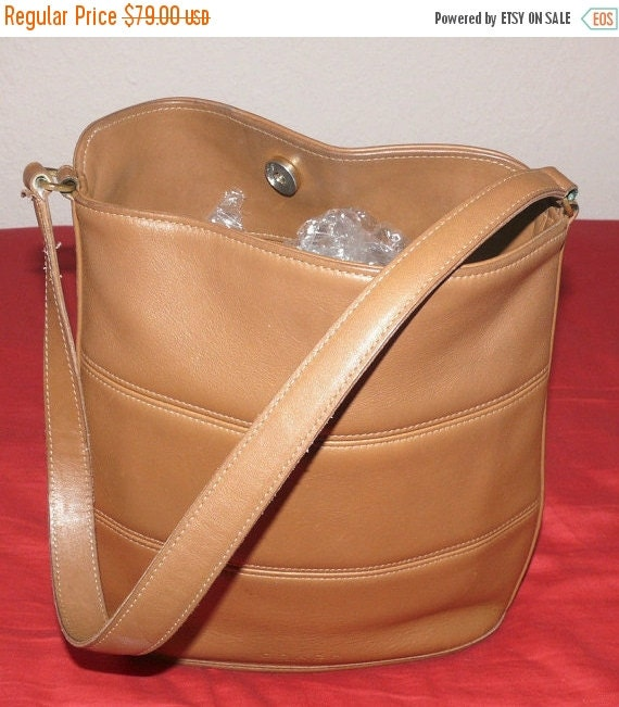 Football Days Sale Coach Vintage Brown Leather Hobo Tote or Purse - Great Condition