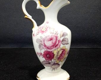 Vintage small french Limoges porcelain vase