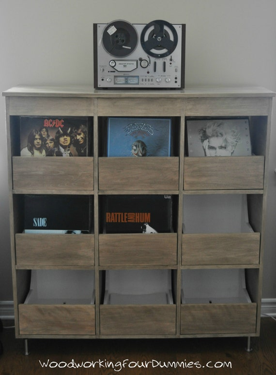 Record Cabinet Detailed Plans