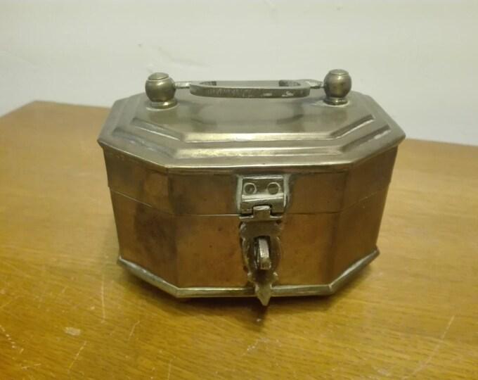 Small Brass chest.