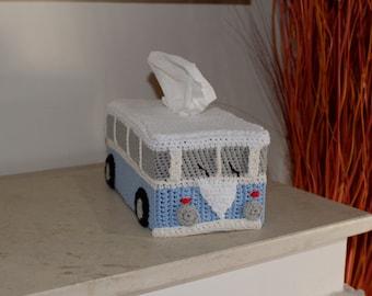 Volkswagen Tissue Cover Crochet Bus