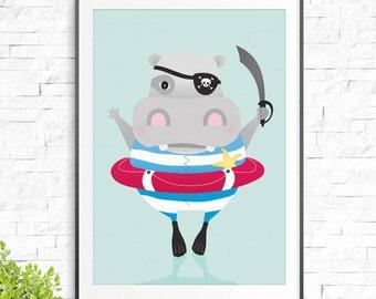 Ahoy Matey Print
