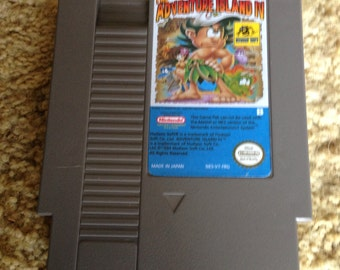 Nintendo NES Adventure Island IV - Reproduction