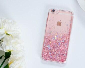 Pink glitter iphone 6 case glitter iphone 6s case glitter iphone 6 plus case glitter iphone 6s plus case glitter iphone 5s case glitter