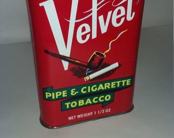 Velvet Tobacco Tin