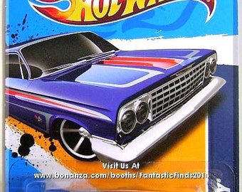 Hot Wheels - '62 Chevy: Muscle Mania - GM #3/10 -  #103/247 *Blue Edition*