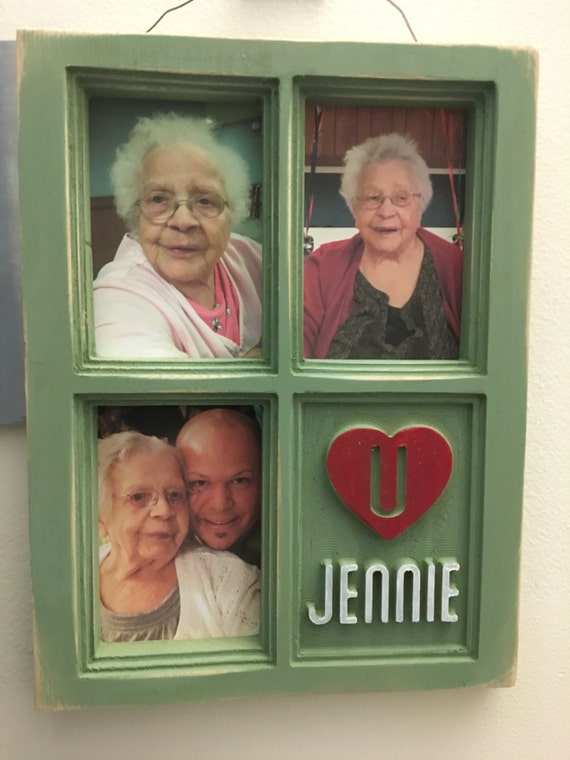 Custom Carved Personalized Picture Frame