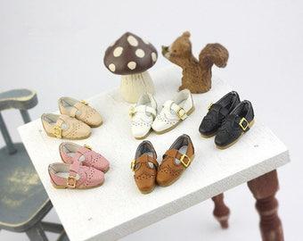 Retro square shoes for Blythe/DAL/Pullip/Momoko/AZONE/Lati_y
