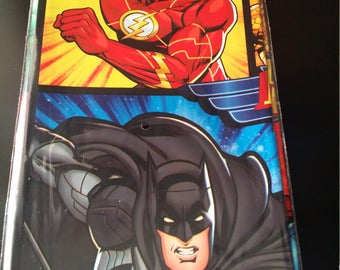 Justice  league  birthday  tablecloth