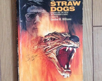 Vintage Straw Dogs Novel