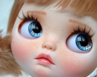 Reserved!!! Don't buy!!! OOAK Custom Blythe Doll ***Carol*** by BeMyDoll - 1st Payment