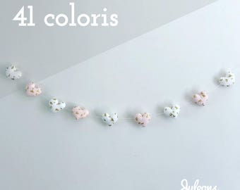 5 or 9 - 41 colours - hearts Garland gift personalized