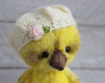 "PATTERN  ""Teddy chicken Sunny "". Artist PDF  Pattern.Teddy Bear.PDF Teddy bear pattern.Teddy bear pattern download"